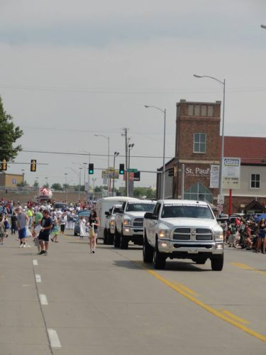 West Omaha Irrigation participating in local parade